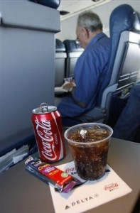 Travelers drew the line when U.S. Airways started charging for soda.