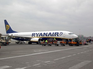 RyanAir, based in the U.K., also offers low airfare.