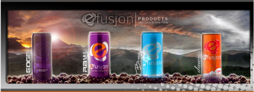 www.efusjon.com Energy Drink with No Crash