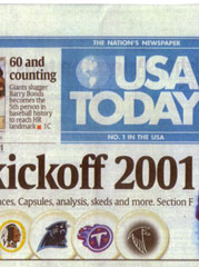 USA Today is Gannett's largest newspaper.