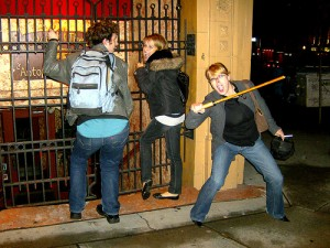 They laugh, but caning is no laughing matter (Photo: flickr.com)