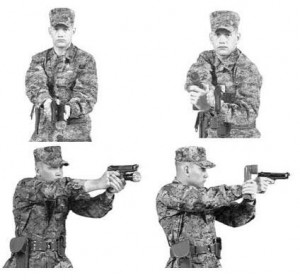 Be tactical. Imagine this is you, perhaps without the gun. (Photo: commons.wikimedia.org)