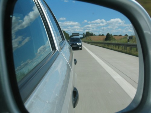 Your blind spot can hold great danger (Photo: commons.wikimedia.org)