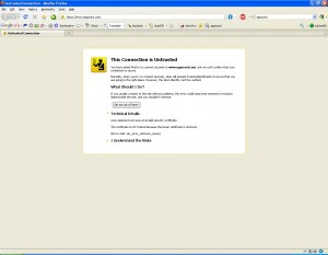 This is what my browser told me when I attempted to view eppicard.com. Consumer beware!