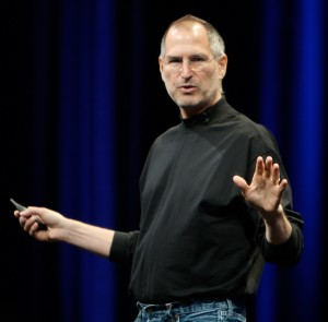 Steve Jobs is all better! Image from wikimedia.