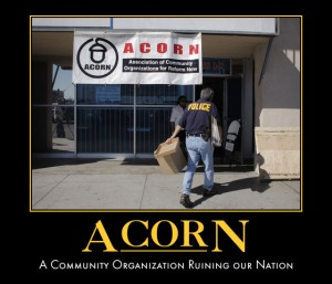 "The Senate says ""no"" to payday cash for ACORN (Photo: therealbarackobama.wordpress.com)"
