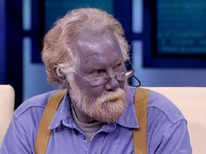 Paul Karason took too much colloidal silver. It's a wonder he isn't dead. (Photo: sonofmacenstein.com)