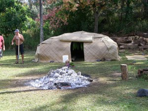 Pictured: A sweat lodge in Hawaii. Many cultures have used sweat lodges for centuries, but they are very selective about the materials used. Image from Flickr.