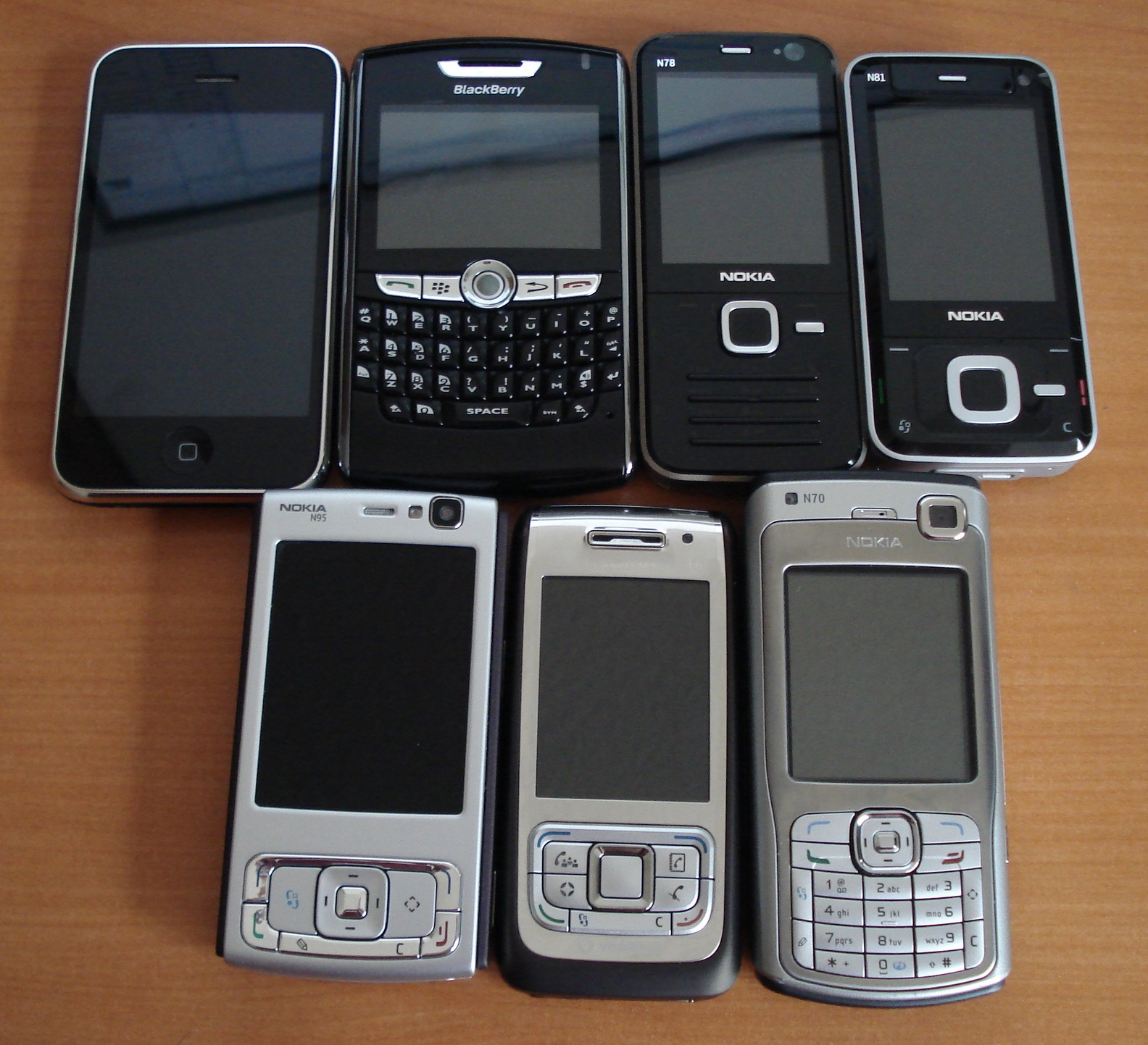 Another contender is about to enter the war of the smartphones. Image from Wikimedia.