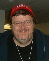 Michael Moore image from Wikimedia.
