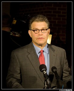 Democratic Senator Al Franken of Minnesota votes for people over corporations. (Photo: flickr.com)