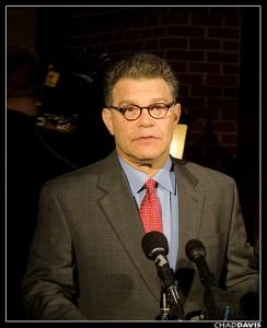Democratic Senator Al Franken of Minnesota votes for people over corporations. (Photo: flickr.com)