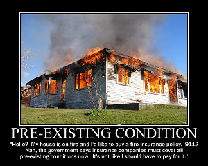 Think a cut in insurance cost is a good debt relief idea in this situation? (Photo: flickr.com)