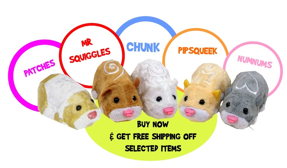 Zhu Zhu pets are like this guy, but they aren't alive. However, many thousands of kids don't care. (Photo: flickr.com)