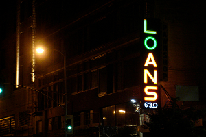 Pursuit of alternative financial services like payday loans is sometimes necessary. But do the costs break the budget? (Photo: flickr.com)