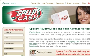 Speedy Cash and Rapid Cash are speedsters when it comes to your payday loan needs.